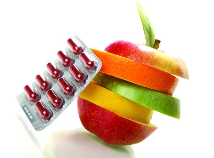 vitamintabletten gesunde ernährung oder vitamin tabletten