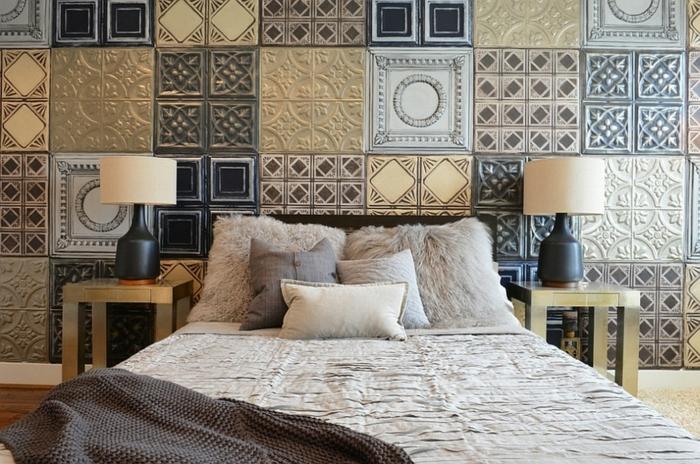 wandfliesen schlafzimmer gestalten ideen schöne wohnideen