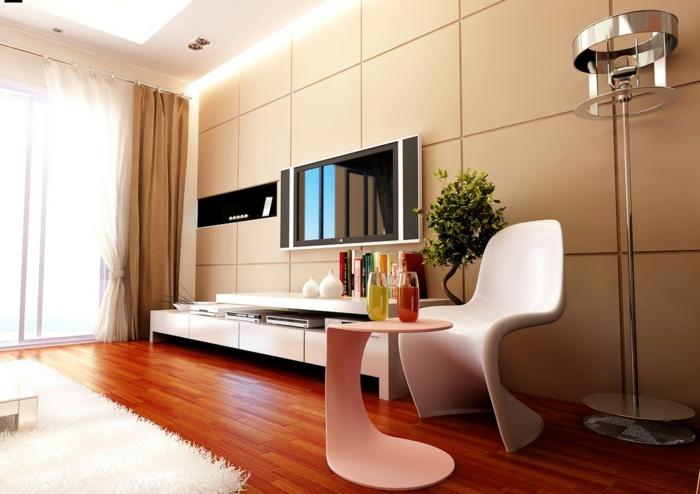 wandfliesen wohnzimmer wände verkleiden weißer teppich