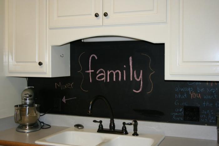 wandtafel in k 252 che warum gestalten sie ihre k 252 chenw 228 nde chalkboard backsplash kitchen decor pinterest