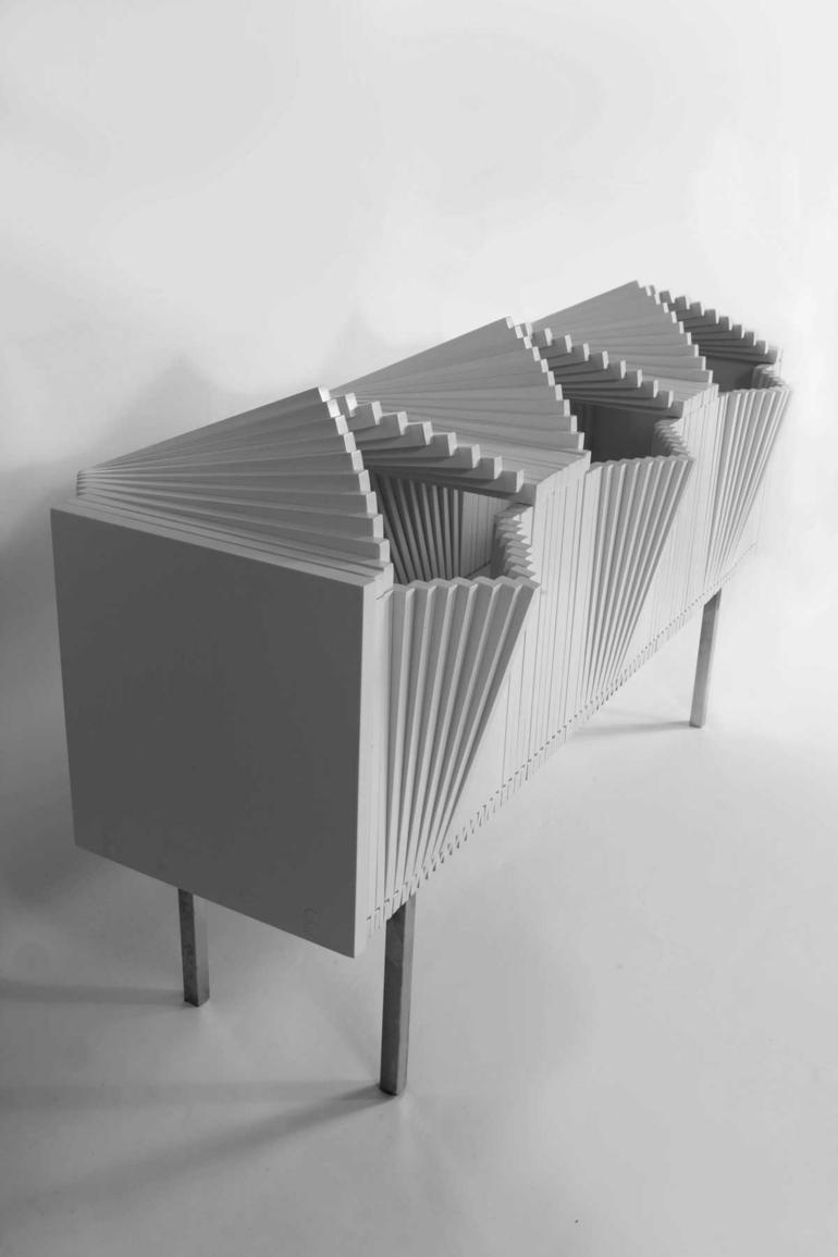 Designer Sideboard Wave Cabinet Vom Designer Sebastian Errazuriz