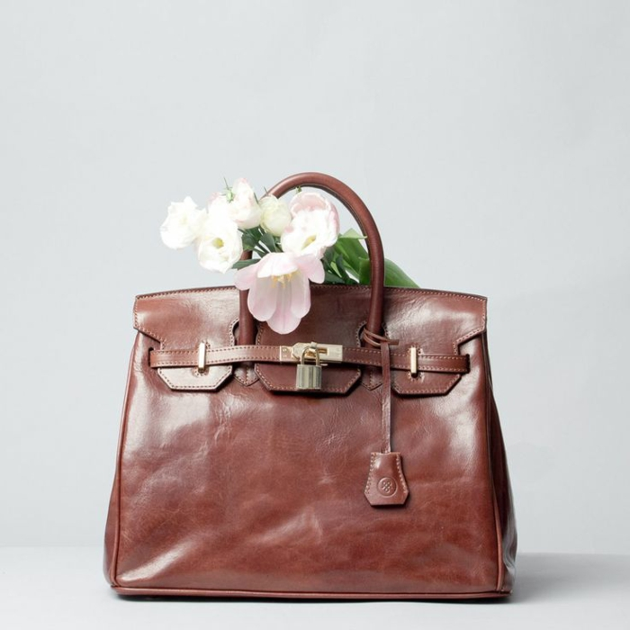 wertvolle Ledertaschen Maxwell Scott handtaschen damen