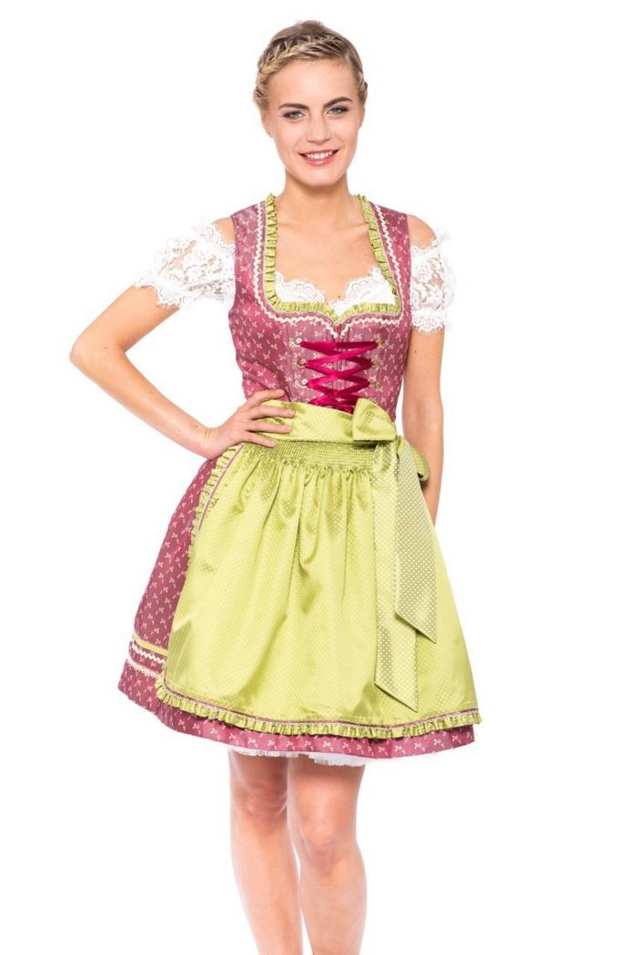 wiesn 2015 oktoberfest dirndl outfit pastell farben