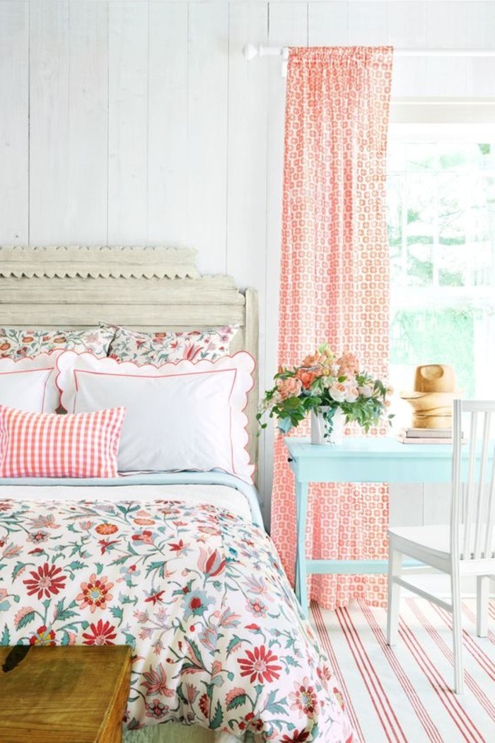 wohnideen schlafzimmer schlafzimmerdesign welches an den frühling erinnert