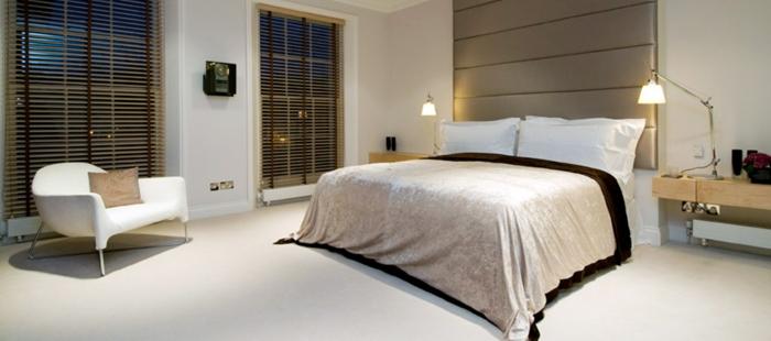 wohnideen schlafzimmer zeitgenösisches design