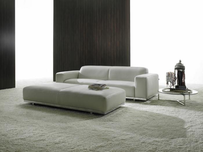 wohnideen wohnzimmer weiße wohnzimmermöbel teppichboden
