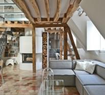 Wohnung Einrichten Ideen Aus Einem Historischen Haus Mit