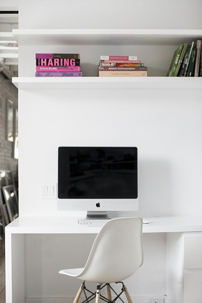 wohnungseinrichtung ideen Amee Allsop arbeitsplatz arbeitstisch moderner stuhl