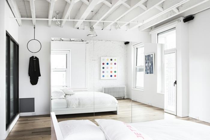 Ideen Zu Wohnungseinrichtung : wohnungseinrichtung ideen loft wohnung Amee Allsop schlafzimmer