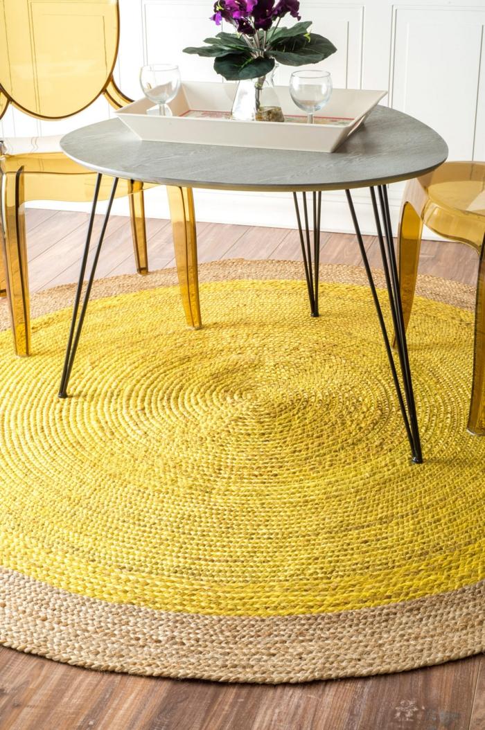 Teppich Wohnzimmer Rund Kreative Deko Ideen Und Innenarchitektur Modern Dekoo