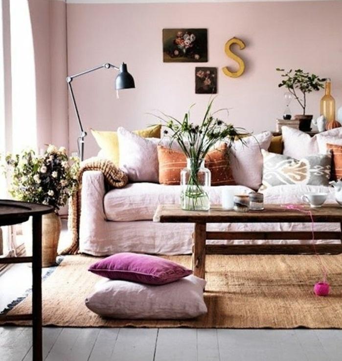 Dunkelrote Wandfarbe Fr Wohnzimmer