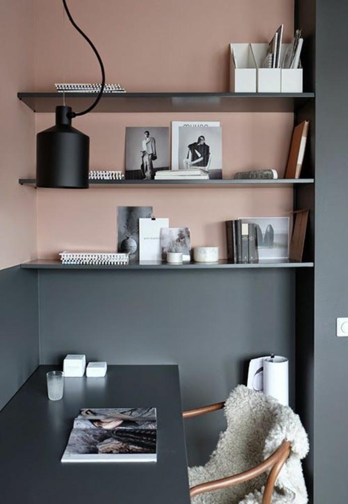 Küche Weiß Arbeitsplatte Grau