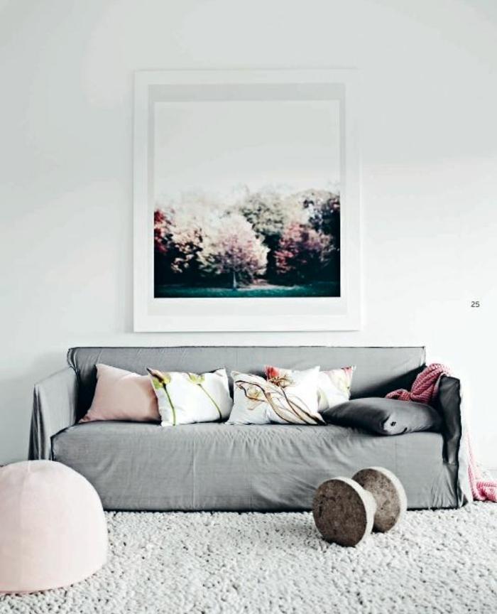 wohnzimmer farblich gestalten grau – dumss