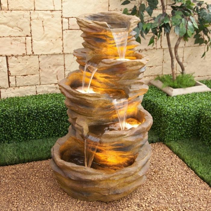 Zierbrunnen f r ein entspanntes und wohnliches ambiente for Fuentes de jardin baratas