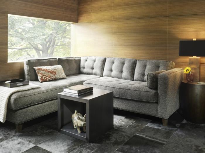 zimmer einrichten wohnzimmer holztextur bodenfliesen wohnzimmer