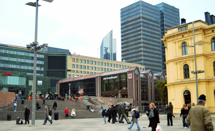 Еuropa Städte Oslo stadt
