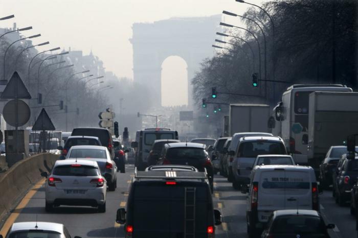 Еuropa Städte Paris feierabend verkehr