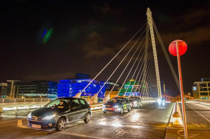 Еuropa Städte Samuel Becket Brücke Dublin