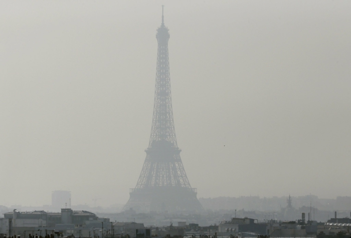 Еuropa Städte paris smog