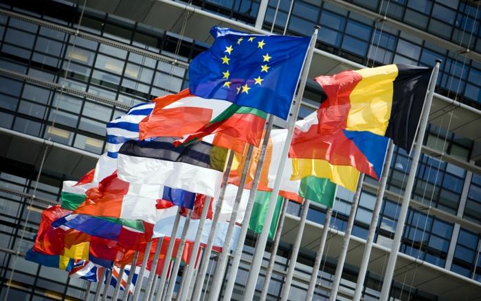 Еuropa Städte staete europa brussel flage
