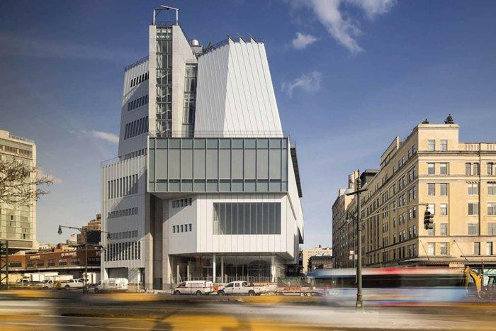 Architektin über whitney museum NY