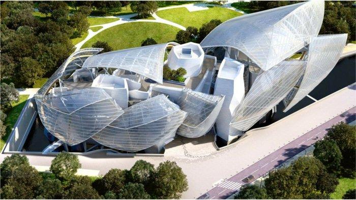 Architektin luis vuitn museum
