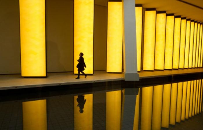 Architektin vuitton gelb
