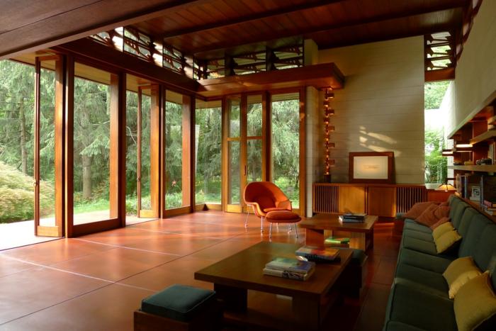 Bachman Wilson House organische architektur Frank Lloyd Wright