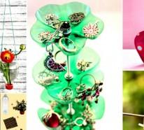 Coole Upcycling Ideen über das Basteln mit Pet-Flaschen- Kreativität ist grenzenlos