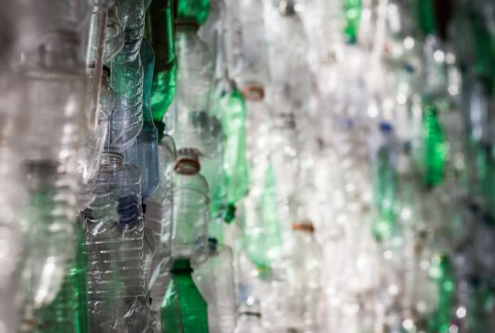 Upcycling Ideen Basteln mit Pet Flaschen titel