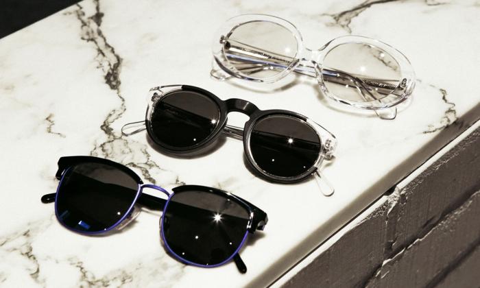 Brillen Mode drei brillen