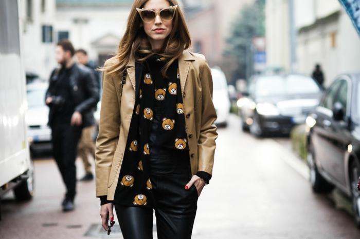 Brillen Mode leder