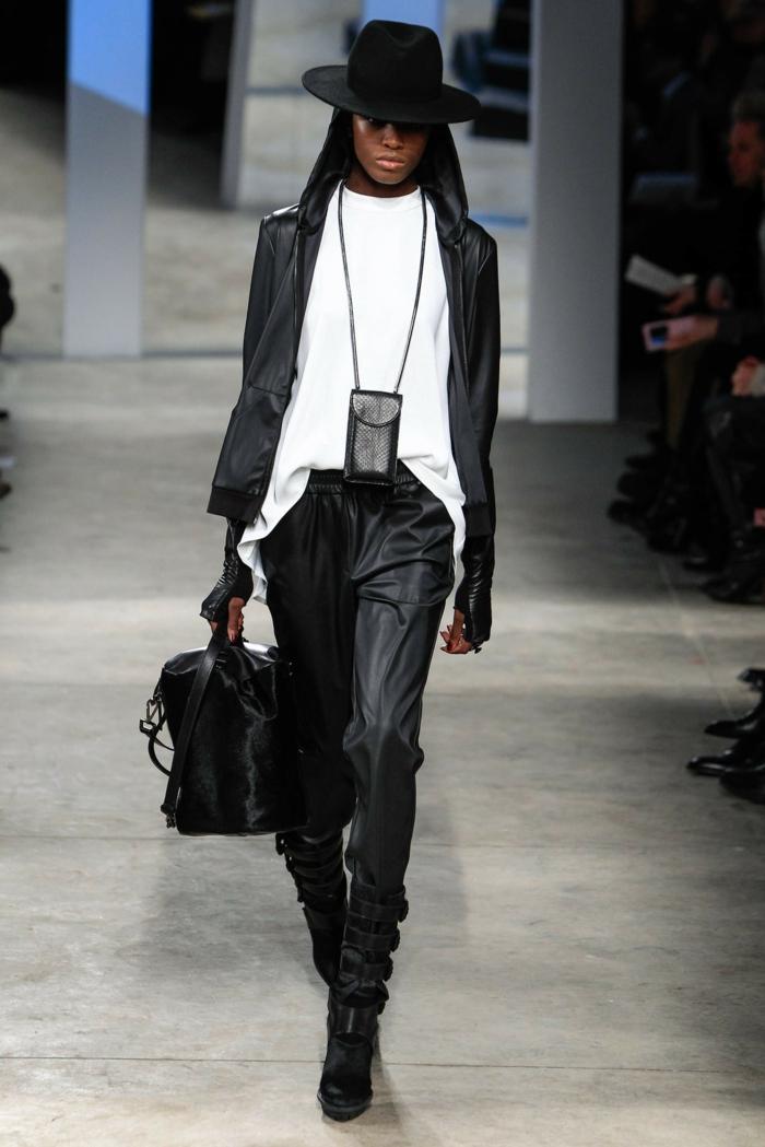 Brillen Mode tendenz schwarz