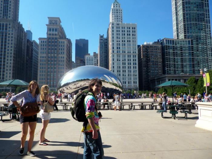 Cloud Gate Chicago Sehenswürdigkeiten architekturbiennale 2015