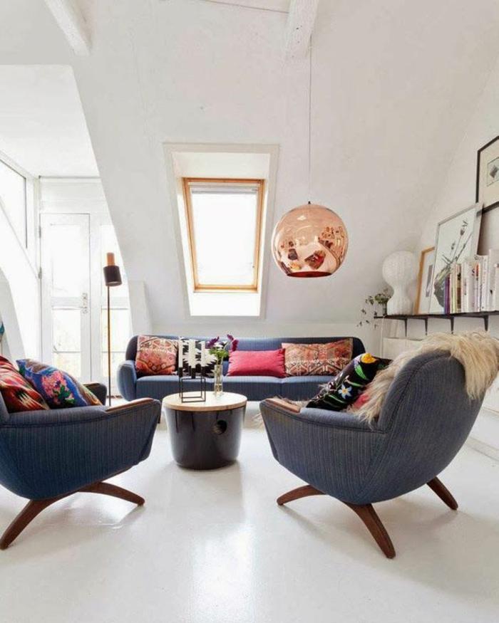 Dänisches Design einrichtungsideen im hygge stil wohnzimmer
