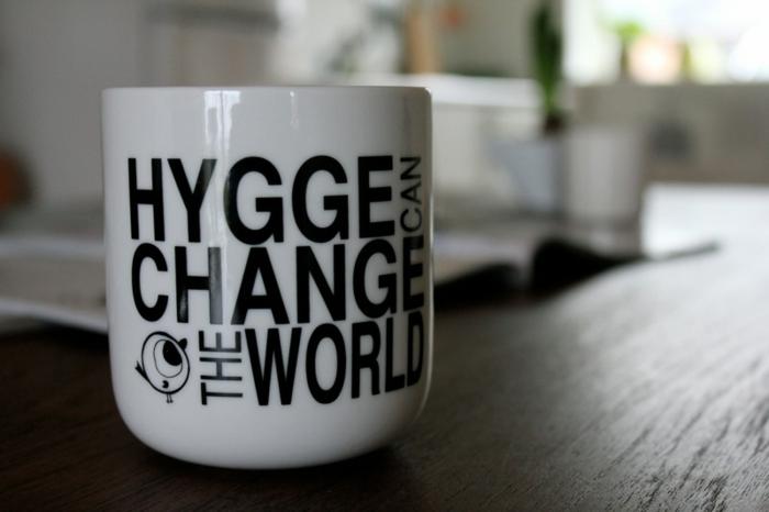Dänisches Design gemütliche hygge wohnaccessoires teetasse