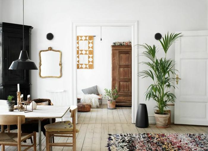 Dänisches Design wohnung in hygge stil