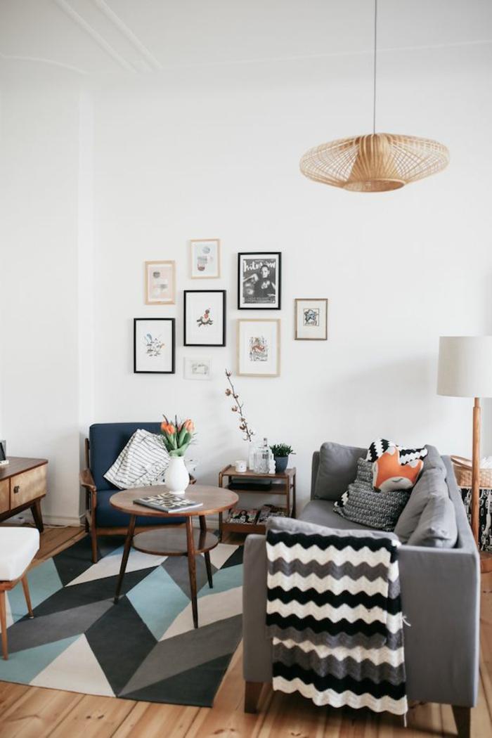 Dänisches Design wohnzimmer im hygge stil