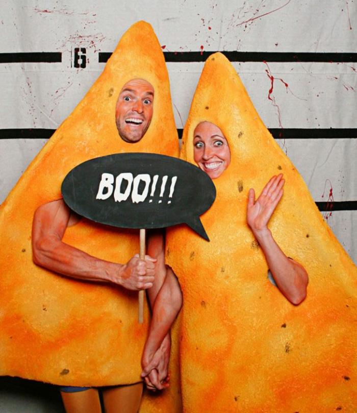 Halloween Kostüme selber machen fast food