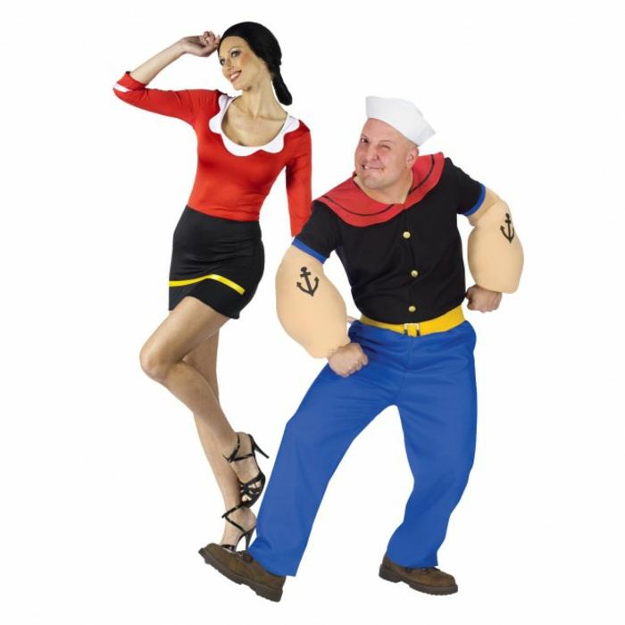Halloween Kostüme selber machen popai