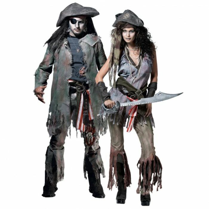 Halloween Kostüme selber machen pyraten