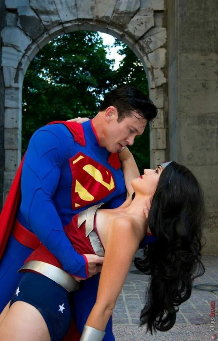 Halloween Kostüme selber machen superman