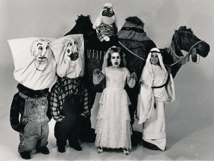 Helloween Kostüme caravane