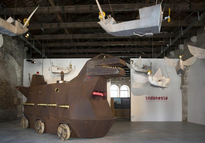 Heri Dono Voyage Trokomod biennale venedig 2015