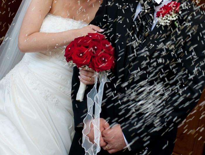 Hochzeit planen reiskonfetti