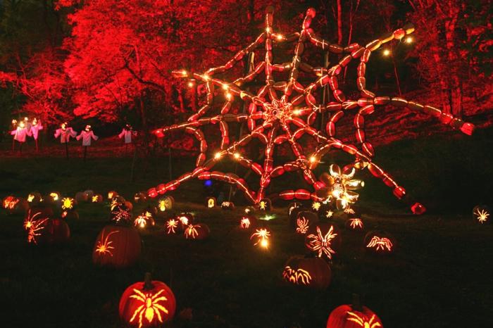 Ideen für Halloween spinnengewebe
