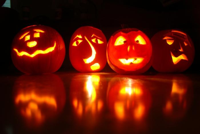 Ideen für Halloween gesichter