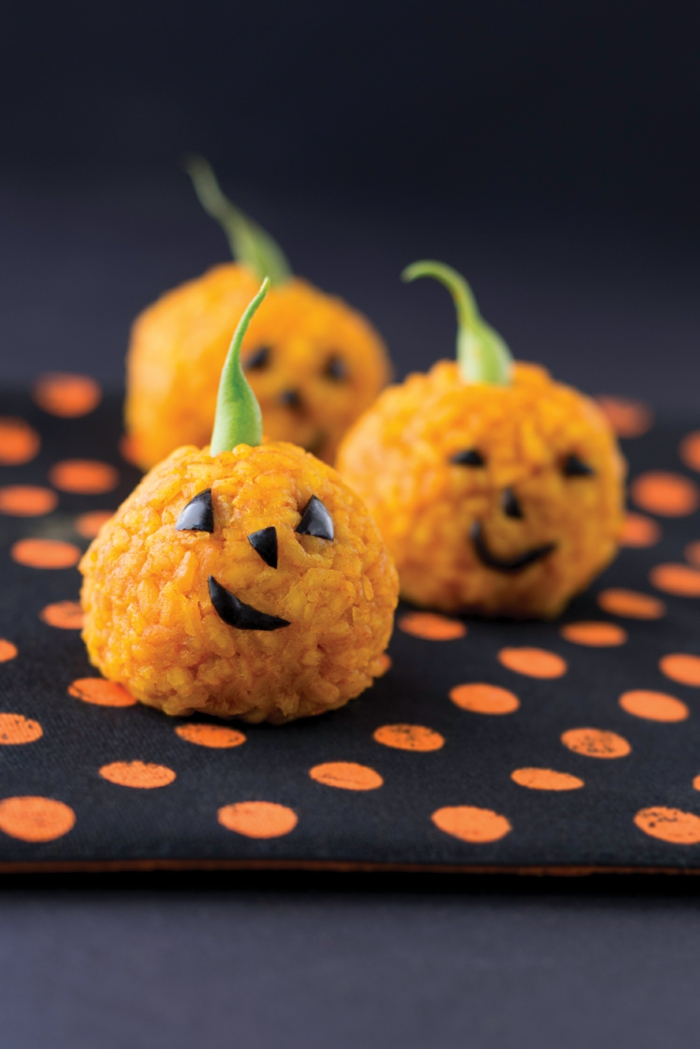 Ideen für Halloween häppchen