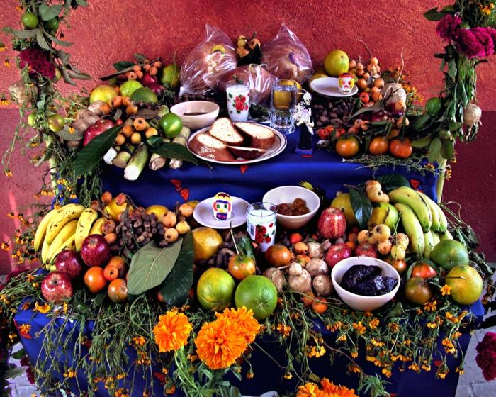 Ideen für Halloween mexiko essen Ideen für Halloween deko halloween geschichte kuerbislaterne basteln
