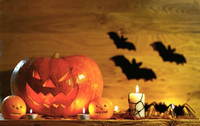 Ideen für Halloween tischdeko
